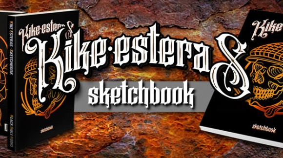 New Book: Kike Esteras Sketchbook